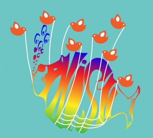 """(via <a href=""""http://twitpic.com/photos/strangedesign"""">strangedesign</a>)"""